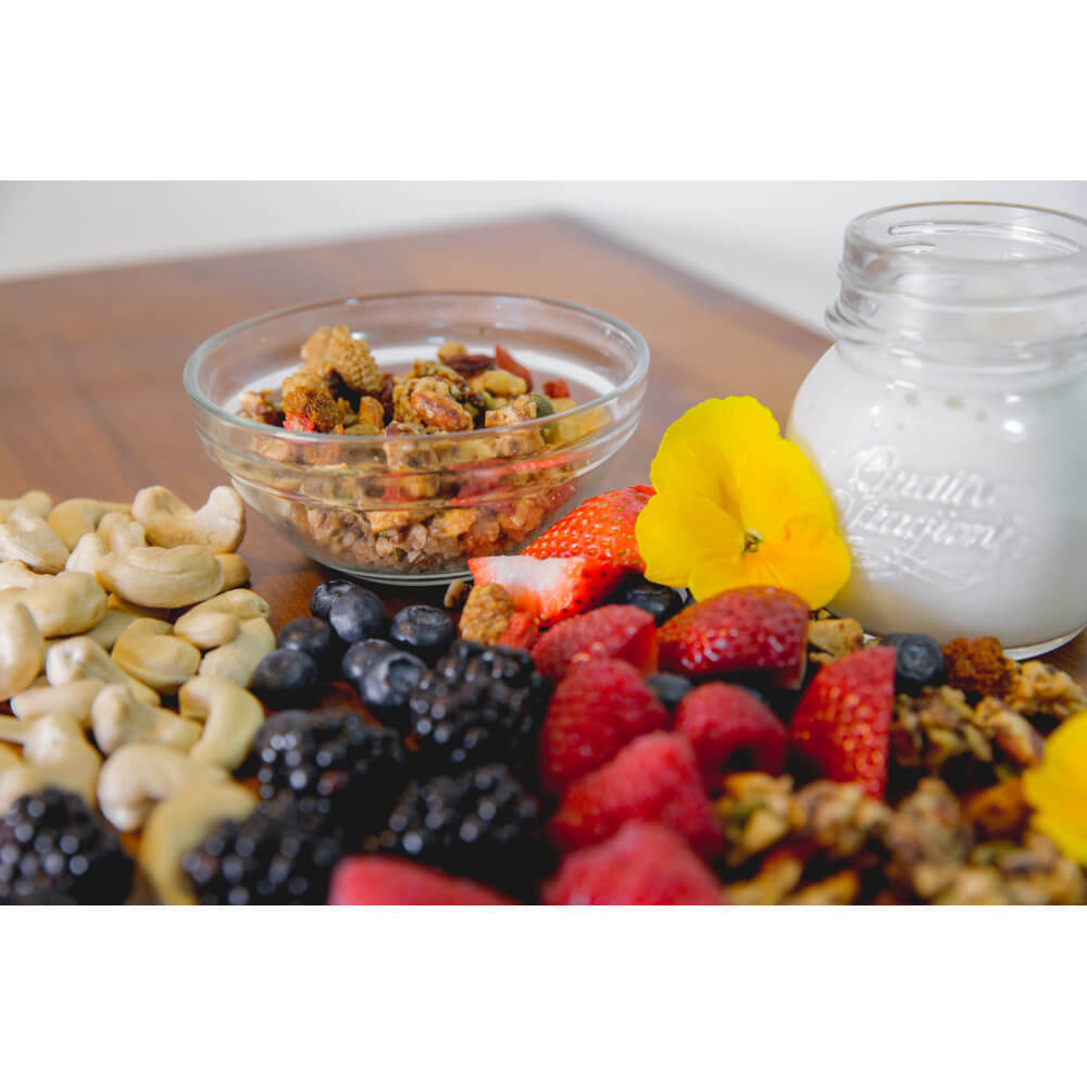 Part of Your Healthful Breakfast. Bery Me GrainFreeNola - Paleo. Vegan. Gluten-Free Hand-crafted Granola