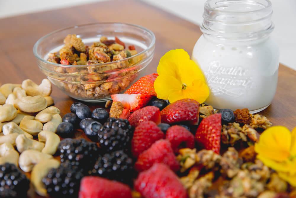 Part of Your Healthful Breakfast. Berry Me GrainFreeNola - Paleo. Vegan. Gluten-Free Hand-crafted Granola