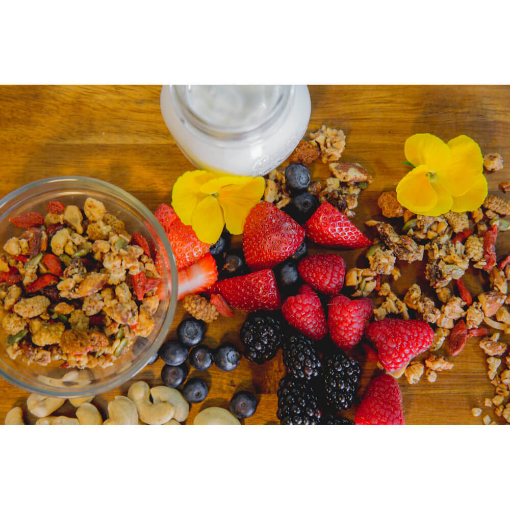 It's Berry Delicicious! All Natural, Organic Ingredients! Bery Me GrainFreeNola - Paleo. Vegan. Gluten-Free Hand-crafted Granola
