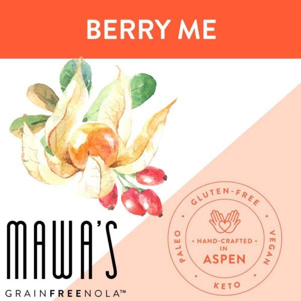 Berry Me Grain-Free, Gluten-Free, Paleo, Organically Sweetened Granola