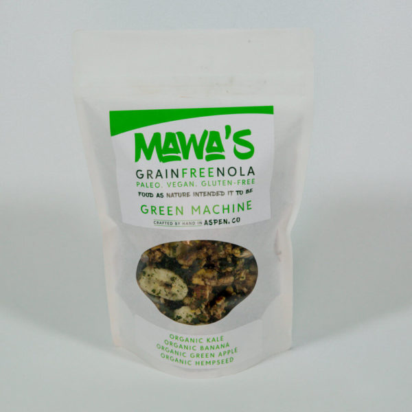 Green Machine GrainFreeNola - Paleo. Vegan. Gluten-Free Hand-crafted Granola