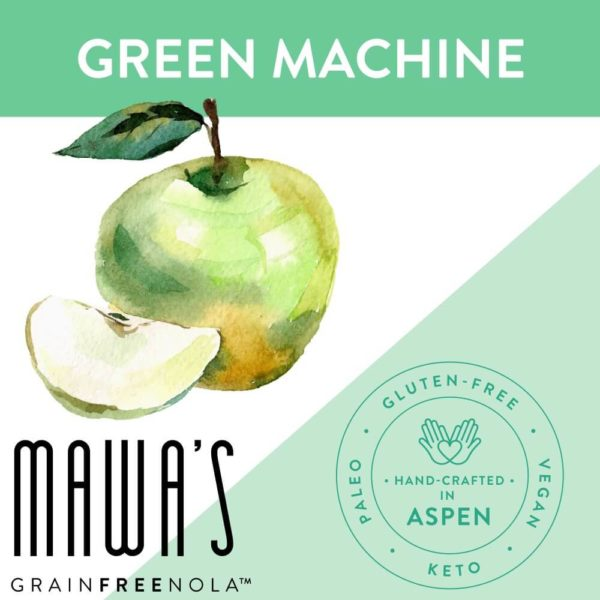 Green Machine Grain-Free, Gluten-Free, Paleo, Organically Sweetened Granola