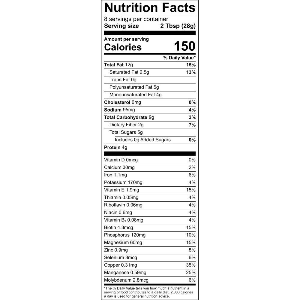 Nutrional Information - Health Nut GrainFreeNola - Paleo. Vegan. Gluten-Free Hand-crafted Granola