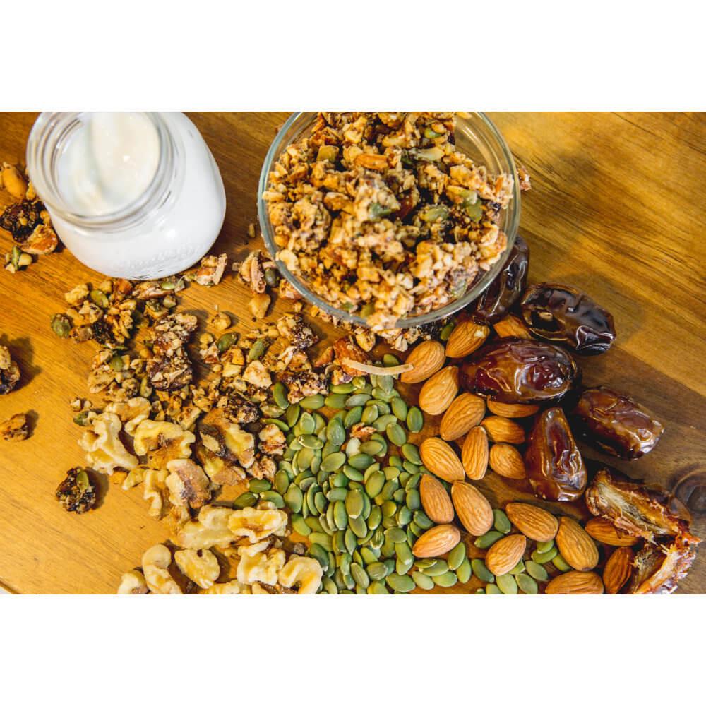 Nutty Deliciousness! Health Nut GrainFreeNola - Paleo. Vegan. Gluten-Free Hand-crafted Granola