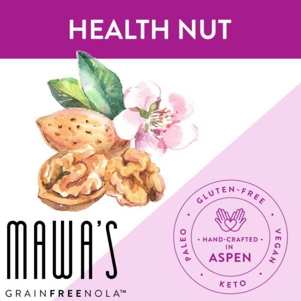 Health Nut Grain-Free, Gluten-Free, Paleo, Organically Sweetened Granola