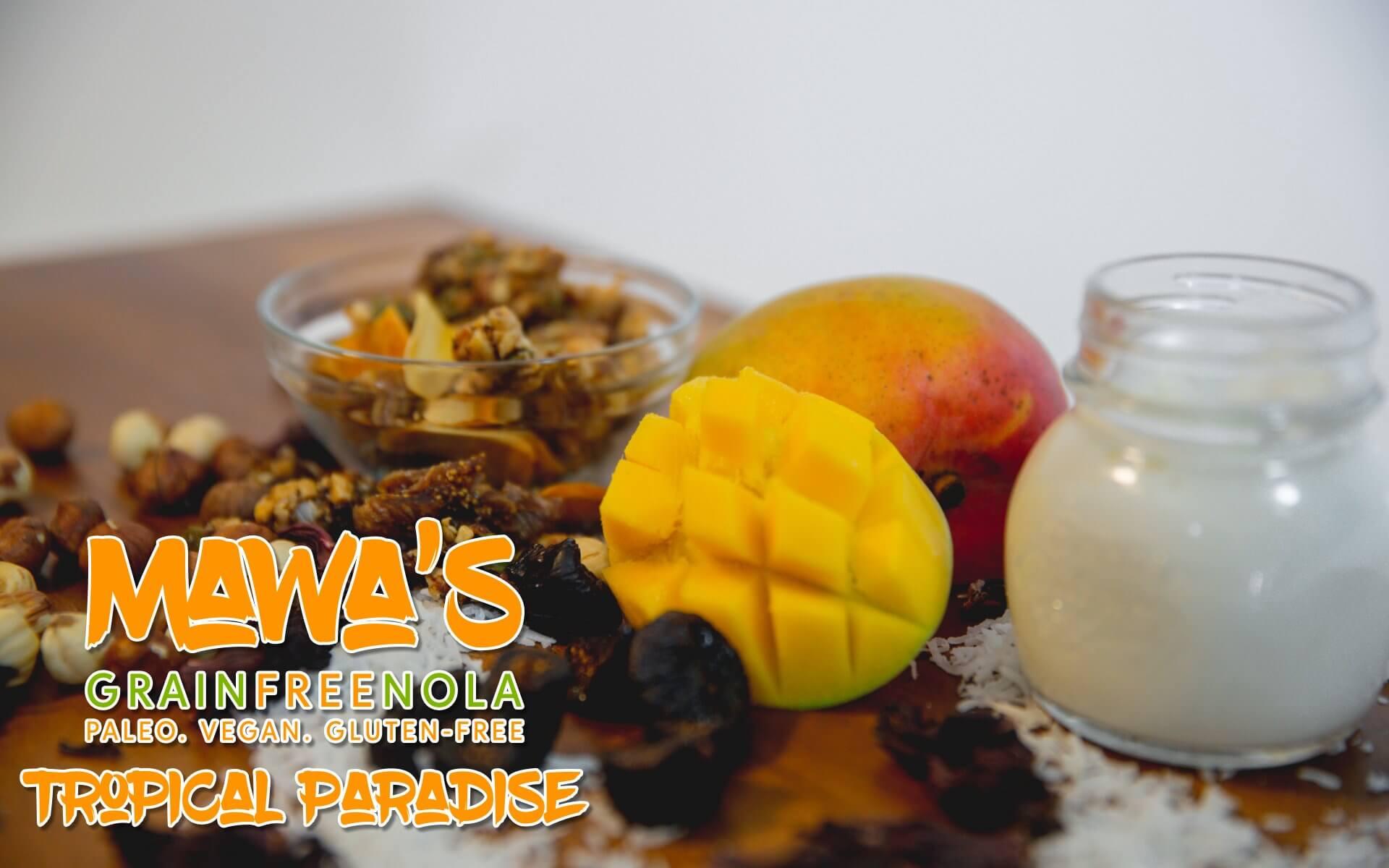 Mawa's GrainFreeNola - Tropical Paradise Paleo, Vegan, Gluten-Free Granola