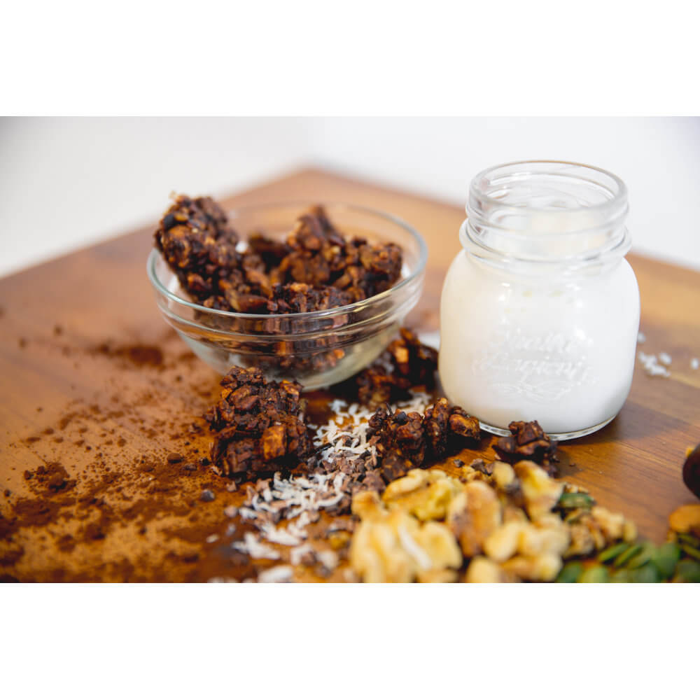 Part of Your Healthful Breakfast. Out of Africa GrainFreeNola - Paleo. Vegan. Gluten-Free Hand-crafted Granola