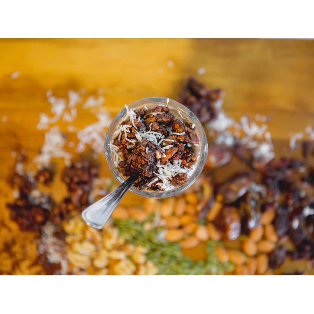 Scrumptious Cocoa Flavor! Out of Africa GrainFreeNola - Paleo. Vegan. Gluten-Free Hand-crafted Granola