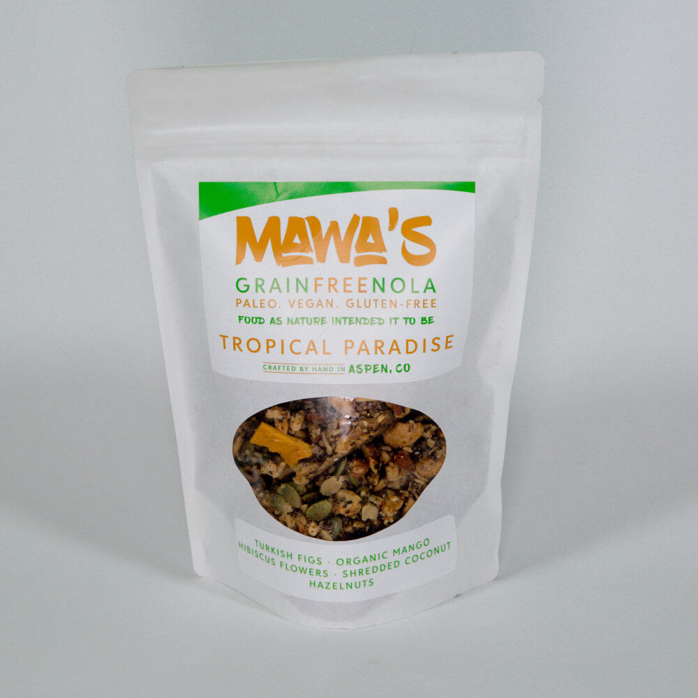 "Tropical Paradise GrainFreeNola – 4 oz <span class=""soon"">(Upcoming)</span>"