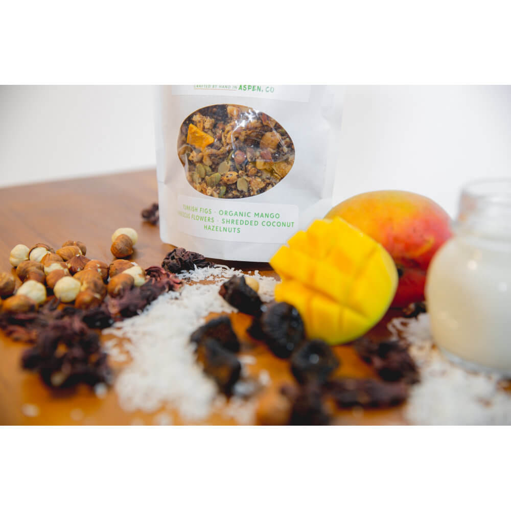All Natural, Organic Ingredients! Tropical Paradise GrainFreeNola - Paleo. Vegan. Gluten-Free Hand-crafted Granola
