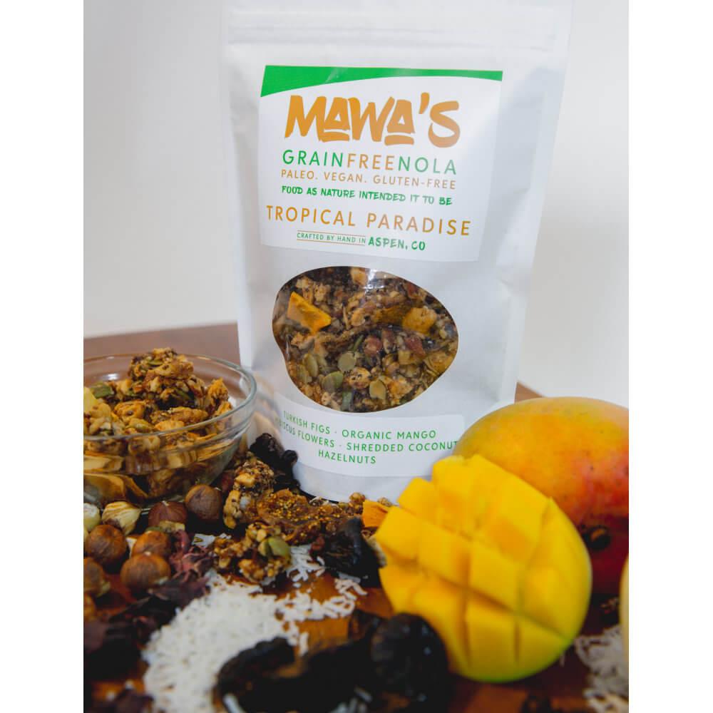 Sweet, Sultry Goodness! Tropical Paradise GrainFreeNola - Paleo. Vegan. Gluten-Free Hand-crafted Granola