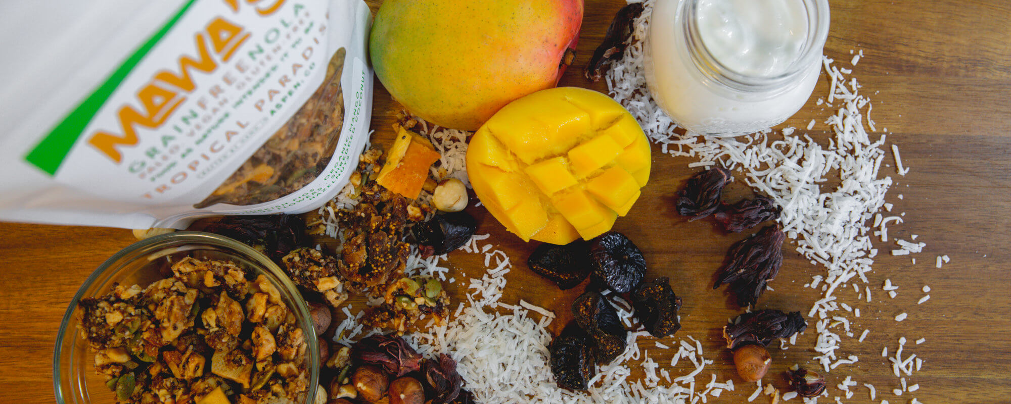 Tropical Paradise GrainFreeNola Granola Benefits