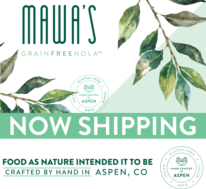 Mawa's GrainFreeNola: Paleo, Vegan, and Gluten-Free
