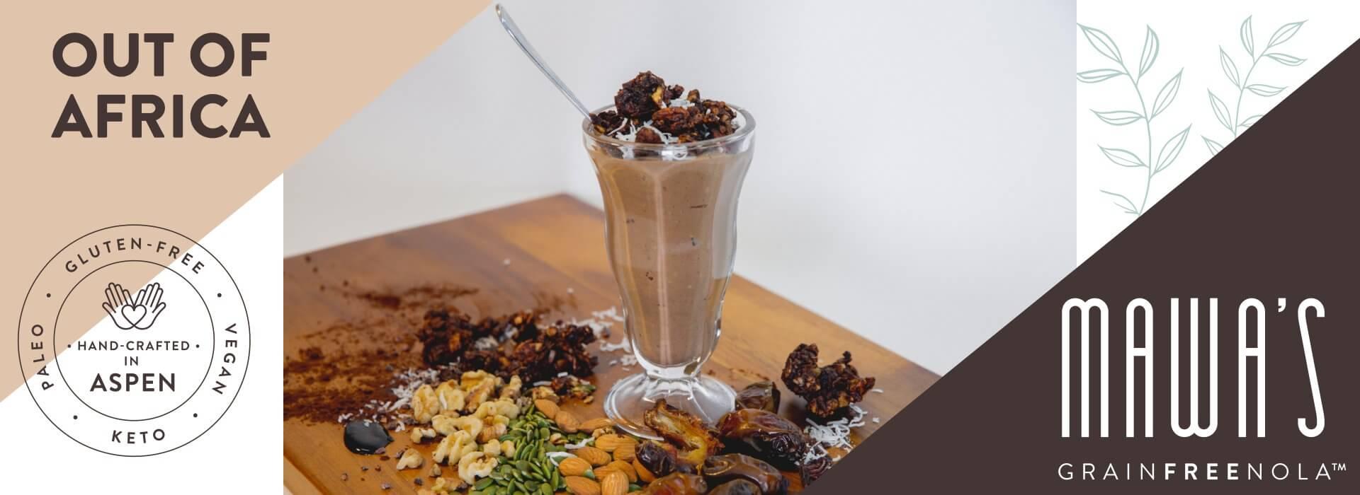 Mawa's GrainFreeNola - Out of Africa Paleo, Vegan, Gluten-Free Granola