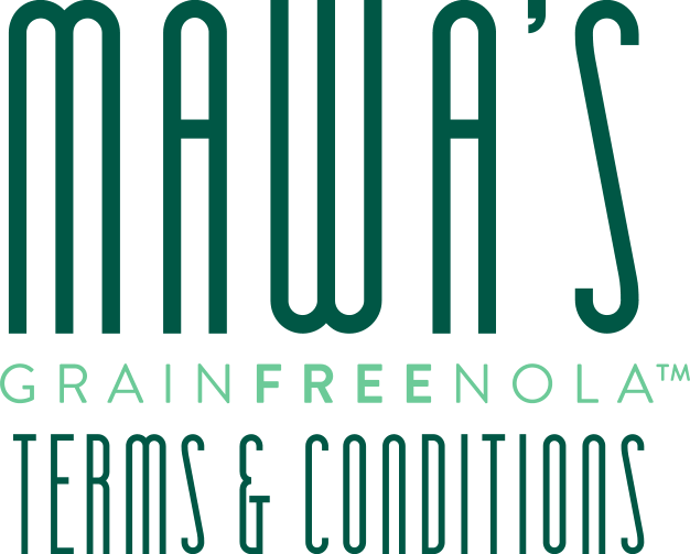 Mawa's GrainFreeNola Website Terms & Conditions