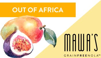 Mawa's Tropical Paradise GrainFreeNola Granola Benefits